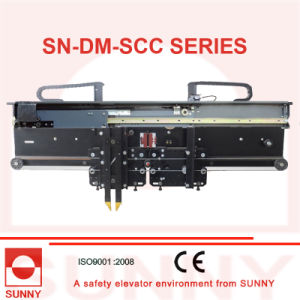 Selcom and Wittur Type Door Machine 2 Panels Center Opening with Panasonic Inverter (SN-DM-SCC) pictures & photos
