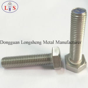 Ss 304 Hex Head Flange Bolt with Collar Serrated Bolt pictures & photos