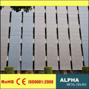 Aluminum Exterior Customized Perforated Curtain Wall Panel Facades and Claddings pictures & photos