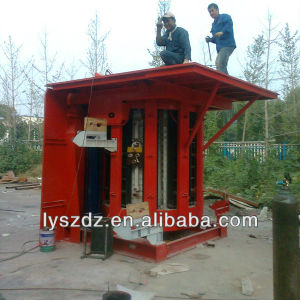 4000kg Energy Saving Induction Melting Furnace