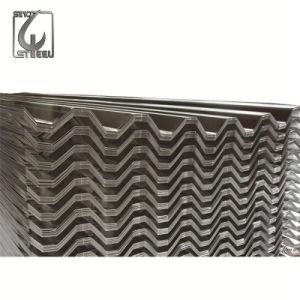 Guage SGCC Grade Galvanized Zinc Coated Corrugated Steel Sheet pictures & photos