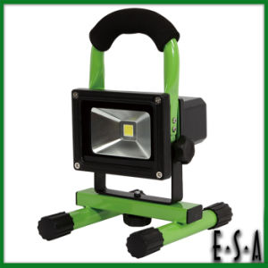 2015 Top Quality CE RoHS LED Flood Light, Popular Rechargeable 10W LED Flood Light, Hot Sale LED Flood Light Outdoor 10W G05b112 pictures & photos