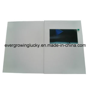 A4 7inch LCD Screen Video Card pictures & photos