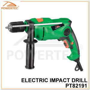 Powertec 550W Hammer Function Electric 13mm Impact Drill pictures & photos