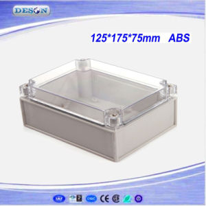 Clear Cover IP66 ABS/PC Toyogiken Waterproof Enclosure 125X175X75mm pictures & photos