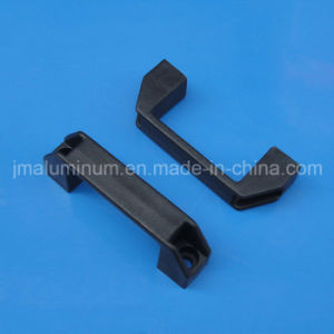T Slot Plastic Door Knob Handle for Aluminum Profile L=90mm Black Color pictures & photos