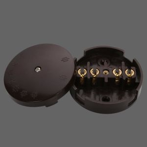 20A 80mm Round Plastic Junction Box