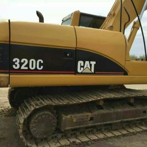 Used Caterpillar 320c Hydraulic Crawler Excavator