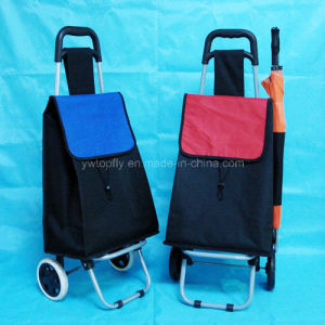 2 Wheels Store and Supermarket Shopping Cart with Iron Frame pictures & photos