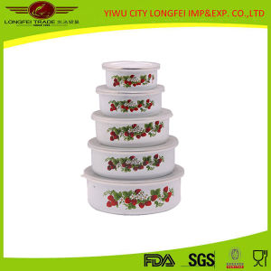 China Online Shopping Small Enamel Food Bowl pictures & photos