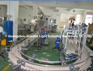 Top-Quality Liquid Bottling Machine with Capping Labeling Line (GHAPL-CL) pictures & photos