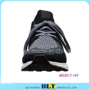 Hot Sale Flyknit Upper PU Outsole Sport Shoes pictures & photos