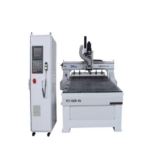 3 Axis Square Guide Rails Woodworking CNC Carving Machine pictures & photos