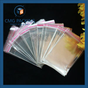 Plastic Clear Printing OPP Bags with Handles (CMG-OPP bag-003) pictures & photos