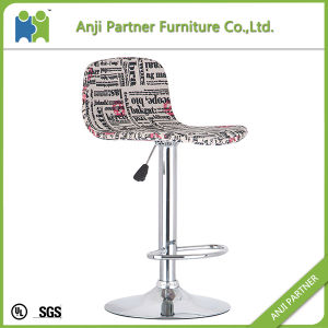 High Quality Classical Fancy Plywood Seat Vintage Fabric Bar Stool Chair (Ramasoon) pictures & photos
