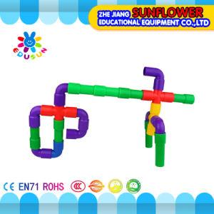 Children Plastic Desktop Toy Trumpet Building Blocks pictures & photos