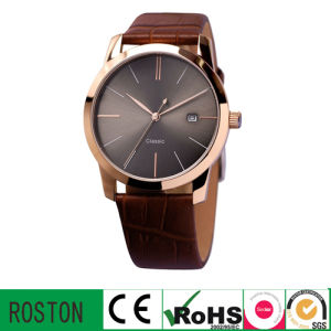 Water Resistant Man Wrist Watch with Muticfunction Movement