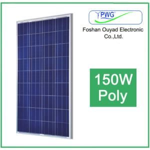 150W Polycrystalline Solar Panel pictures & photos