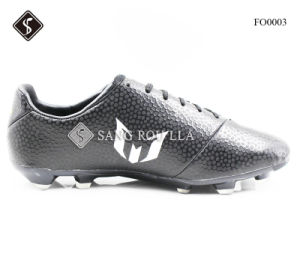 TPU with Microfiber, Outdoor Soccer Shoes for Men Footwear pictures & photos