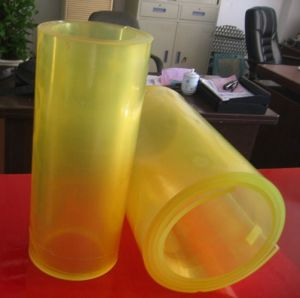 Yellow Color PU Polyurethane Sheet / Roll pictures & photos
