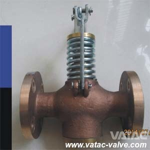 JIS F7398 Bronze/Brass Marine Self-Closing Drain Valve Manufacturer pictures & photos