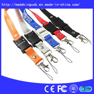 Hotsales Lanyard USB Flash Disk, USB Flash Pen Drive pictures & photos