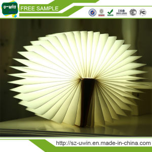 Folding LED Night Light Creative USB LED Book Light pictures & photos