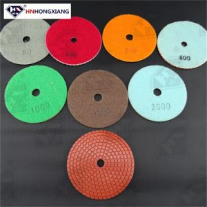 4′′ Wet Diamond Polishing Pads for Granite and Marble pictures & photos