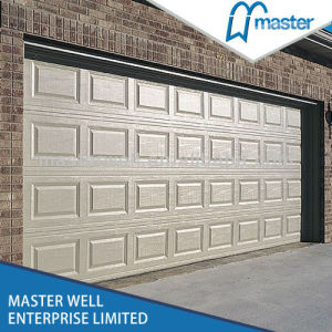 Singel Garage Door with Different Design/ Woodgrain Garage Door pictures & photos
