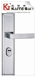 SUS304 Stainless Steel Door Handle on Plate (KTG-6810-015) pictures & photos
