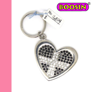 Cross Heart Metal Keychain / Fashion Keychain for Promotional Gift pictures & photos