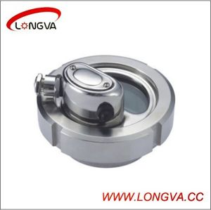 Wenzhou Sanitary Stainless Steel Sight Glass with Light pictures & photos