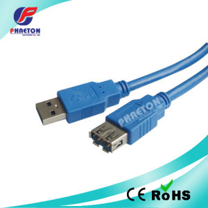 3.0 USB Extension Cable a Male to a Female Metal pictures & photos