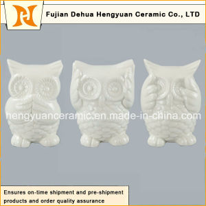 Lovely Mini Ceramic Owl in High Quality, (Home Decoration) pictures & photos