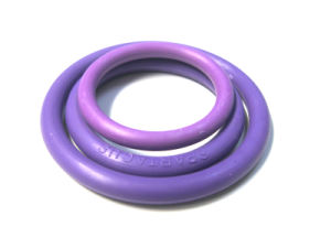 Medical Grade Injection Molded Colored Silicone Nitrite Rubber O -Ring for Sexy Toys pictures & photos