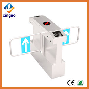 Swing Turnstile Gate RFID Electronic Waterproof Government Swing Barrier for Outdoor Used pictures & photos