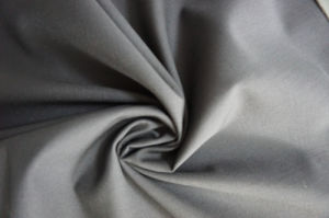Plain Weave Black Wool Fabric for Suit pictures & photos
