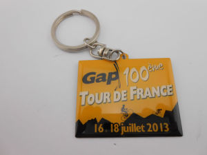 Square Key Chain, Key Ring with Words (GZHY-KA-001) pictures & photos