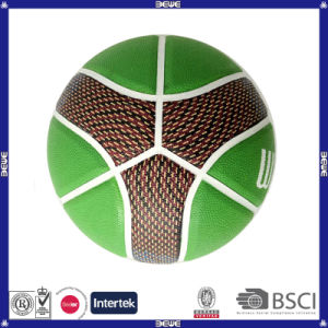 Promotional Customized Logo Basketball in Bulk pictures & photos