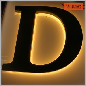 Wall Install Outdoor Acrylic Back Lit Light LED Letter pictures & photos