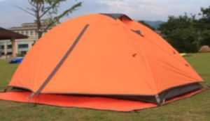 Traveling 3 Person Lightweight Outdoor Family Camping Tent pictures & photos