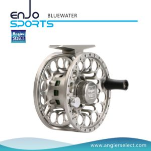 CNC Fishing Tackle Fly Fishing Reel with SGS (BLUEWATER 2-3) pictures & photos