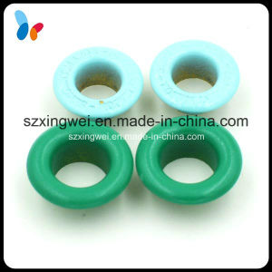 Small Size Colored Round Metal Eyelet for Shoes or Bags pictures & photos