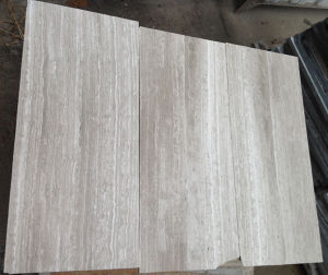 Popular Oak White Marble Floor Tile and Slab pictures & photos