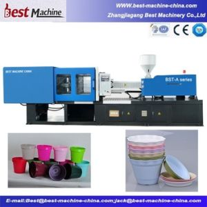 2016 Fine Quality Assurance of The Plastic Flower Pot Injection Molding Machine pictures & photos