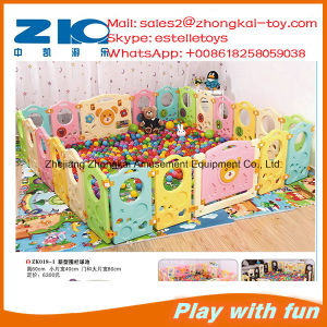 Indoor Playground Plastic Fence for Kids Paly Fun on Sell pictures & photos