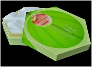 Customized Creative Gift Box, Cosmetics&Tea Paper Box with Lid