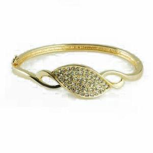 Shine Zircon Design Fashion Jewelry Bangle (A03892B1S)