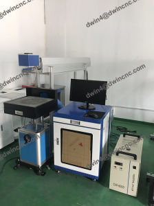 High Efficiency Leather CO2 Laser Marking Machine pictures & photos