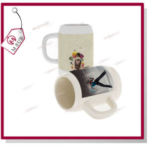 250ml Custom Logo Printed Sublimation Stoneware Beer Mug pictures & photos
